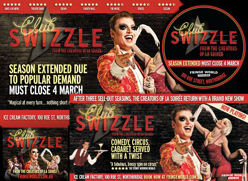 Club Swizzle Perth Fringe World 2018
