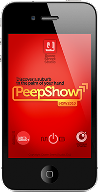 PeepShow AR iPhone app