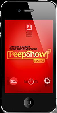 PeepShow AR app