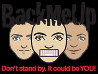 BackMeUp logo