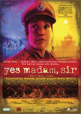 """Yes madam, sir"" feature film poster"